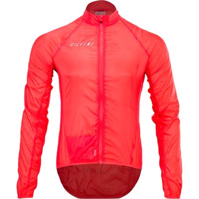 Pánska cyklistická bunda Silvini Montilio MJ1601 ruby, Silvini