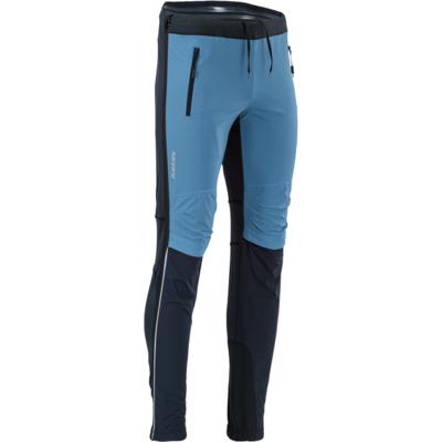 Pánske skialpové nohavice Silvini Soracte Pro MP1748 black-blue
