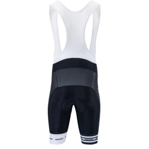Pánske cyklistické nohavice Silvini Team Top MP839 black-white, Silvini
