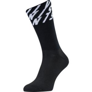 Cyklistické ponožky Silvini Oglio UA1634 black-white