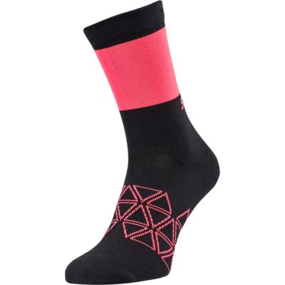 Cyklistické ponožky Silvini Bardiga UA1642 black / pink, Silvini