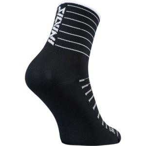 Cyklistické ponožky Silvini Bever UA1659 black-white, Silvini