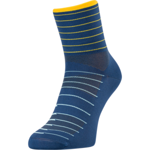 Cyklistické ponožky Silvini Bever UA1659 navy-yellow, Silvini
