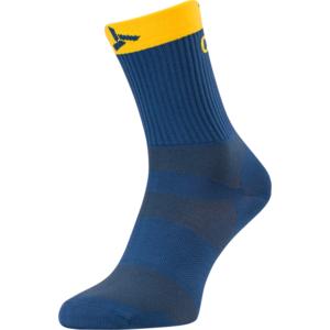 Cyklistické ponožky Silvini Orato UA1660 navy-yellow, Silvini