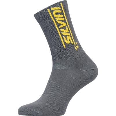 Cyklistické bikové ponožky Silvini Avella UA1815 charcoal / yellow, Silvini
