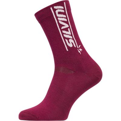 Cyklistické bikové ponožky Silvini Avella UA1815 punch / white II, Silvini