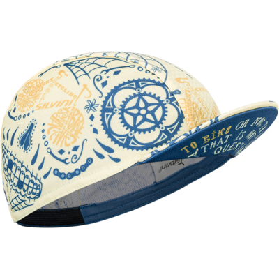 Čiapka cyklistická Silvini Cameri UA1816 yellow / blue