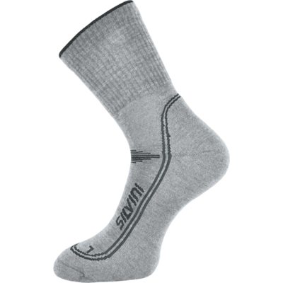 Ponožky Silvini Lattari UA904 cloud-charcoal