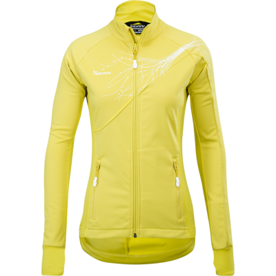Dámska softshellová bunda Silvini Monna WJ703 yellow, Silvini