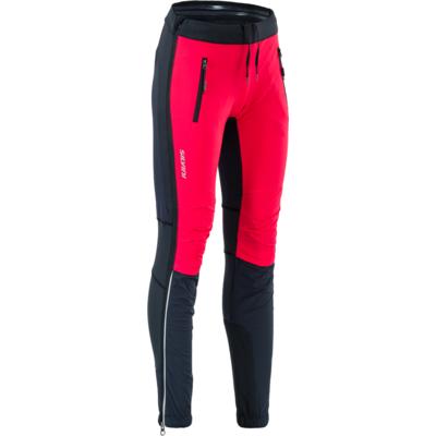 Dámske skialpové nohavice Silvini Soracte Pro WP1744 black-red