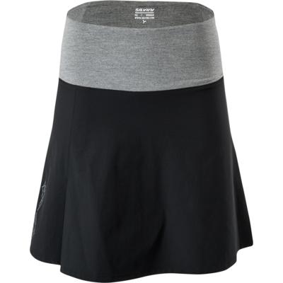 Dámska cyklistická sukňa Silvini Salso WS1217 black, Silvini