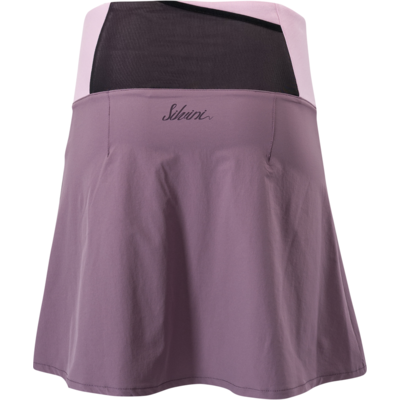 Dámska cyklistická sukňa Silvini Salso WS1217 plum-purple, Silvini