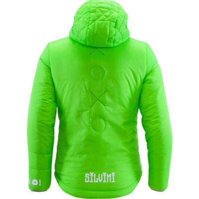 Detská bunda Silvini Primaloft SEISA CJ1300 green, Silvini
