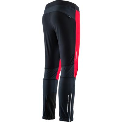 Detské športové nohavice Silvini Melito CP1329 black red, Silvini