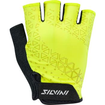 Cyklistické rukavice Silvini Orso MA1639 lime, Silvini