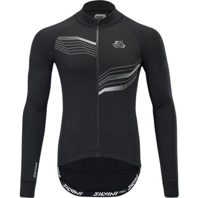 Pánsky cyklistický dres Silvini Grande MD1611 black-cloud