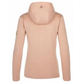 dámsky hrejivý sveter Kilpi IRINA-W ružový, Kilpi