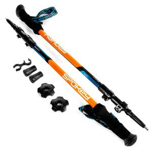 Trekingové palice Spokey ZION modro-oranžové, Spokey