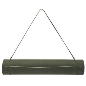 Podložka na jógu YATE yoga mat dvojvrstvová / zelená / materiál TPE, Yate