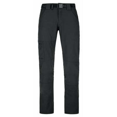 Pánske outdoorové oblečenie nohavice Kilpi JAMES-M čierne