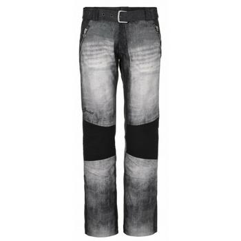 Dámske softshellové nohavice Kilpi JEANS-W čierne, Kilpi