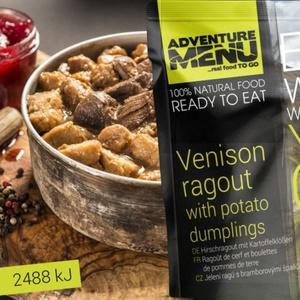 Adventure Menu Jelení ragú s zemiakovými špalíčky, Adventure Menu