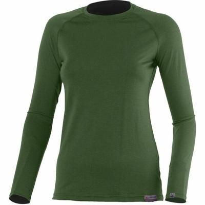 Dámske merino triko Lasting Atila zelené