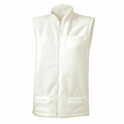 Dámska fleecová vesta Lasting NEMO-0101 biela, Lasting