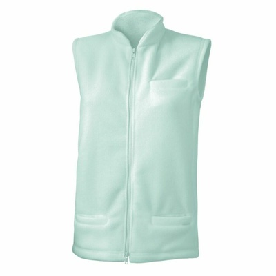 Dámska fleecová vesta Lasting NEMO-9090 tyrkysová, Lasting