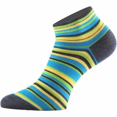 Funkčné ponožky Lasting DUHA-961 prúžkované, Lasting