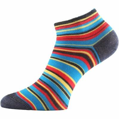 Funkčné ponožky Lasting DUHA-913 prúžkované, Lasting