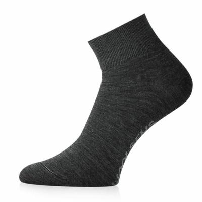 Ponožky merino Lasting FWE-816 šedé, Lasting