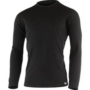 Pánske merino triko Lasting BELO 9090 čierne, Lasting