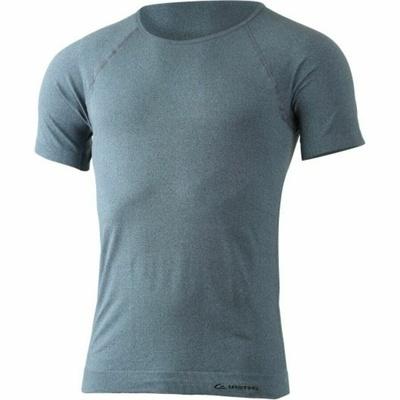 Pánske funkčnou triko Lasting MOS-5880 modrý melír, Lasting