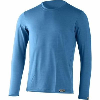 Pánske merino triko Lasting ALAN-5353 modré, Lasting