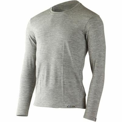 Pánske merino triko Lasting LOGAN-8484 sivá, Lasting