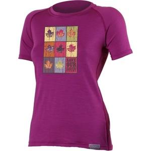 Tričko Lasting ZOZNAM 4848 ružové vlnené, Lasting