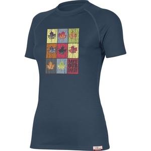 Tričko Lasting ZOZNAM 5656 modré vlnené, Lasting
