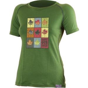 Merino triko Lasting ZOZNAM 6060 zelené vlnené, Lasting