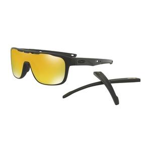 Slnečný okuliare OAKLEY Crossrange Shield MTT Black w/ 24K Iride OO9387-0631, Oakley