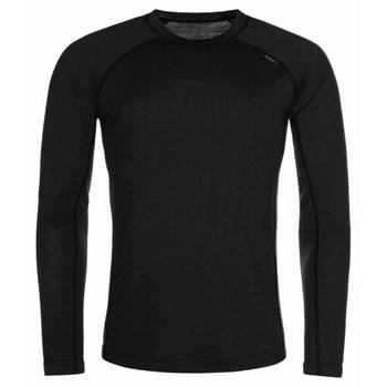 Pánske funkčné tričko s dlhým rukávom Kilpi Mavor TOP-M čierna, Kilpi