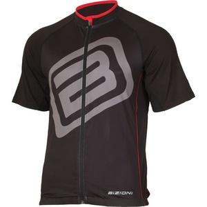 Cyklo dres Lasting MD73 čierno-červený, Lasting