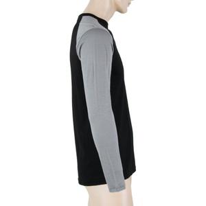Pánske triko Sensor MERINO ACTIVE PT LOGO čierna / šedá 18100018, Sensor