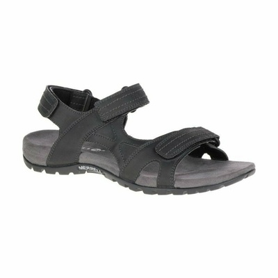 Pánske sandále Merrel l Sandspur Rift Strap black, Merrel