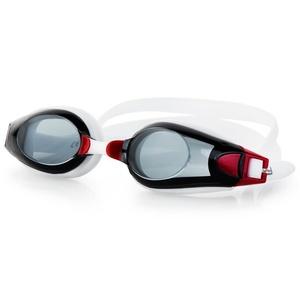 Plavecké okuliare Spokey ROGER čierno-červené, Spokey