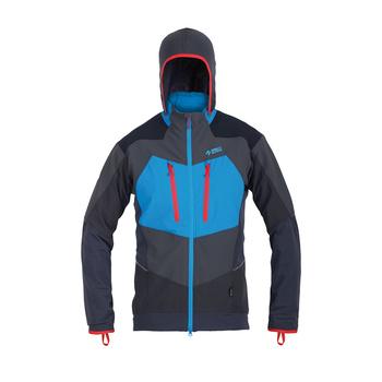 Pánska softshellová bunda Direct Alpine Mistral anthracite / ocean