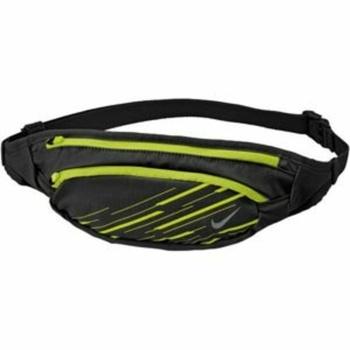 Ľadvinka Nike Large capacity Waistpack Black / Volt / Silver, Nike