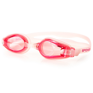 Plavecké okuliare Spokey Skim ružové, Spokey