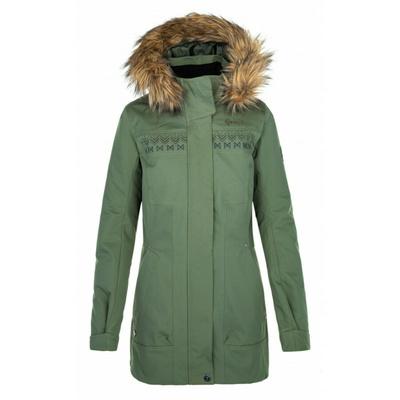 Dámska outdoorová bunda Kilpi ACTIS-W červená, Kilpi