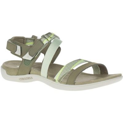 Dámske sandále Merrel l District Mendi Backstrap olive/lime, Merrel